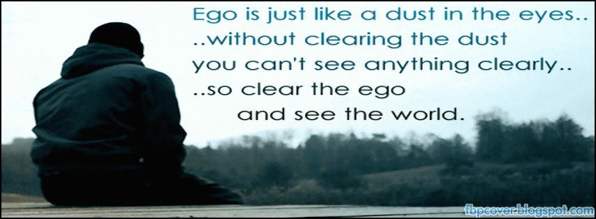facebook profile covers ego quotes fb timeline cover