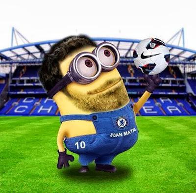 Minion de Juan Mata Chelsea