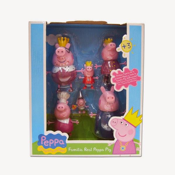 JUGUETES - PEPPA PIG - Familia Real  Producto Oficial | Bandai 84330 | A partir de 3 años