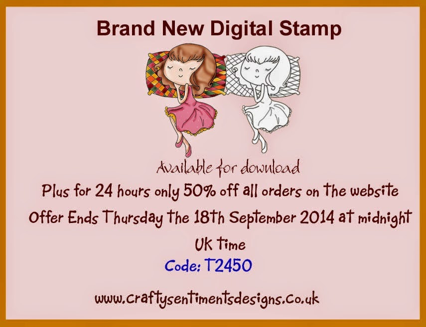 Brand new stamp + 24 hours 50% off