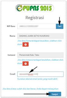 Cara Daftar / Registrasi e-PUPNS BKN Tahun 2015