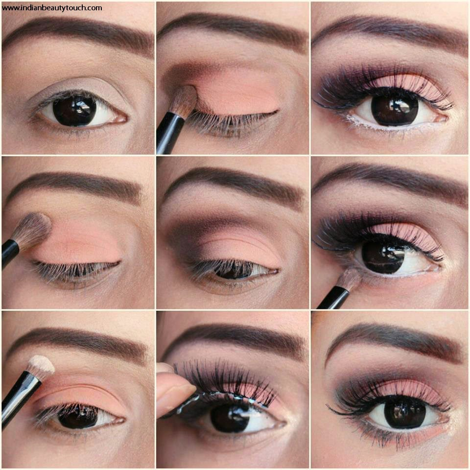 How To Do Easy Brown Smokey Eye Makeup Indian Beauty Touch