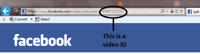 Facebook Video ID