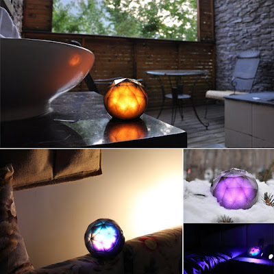 JVR Bluetooth Color Ball Speaker