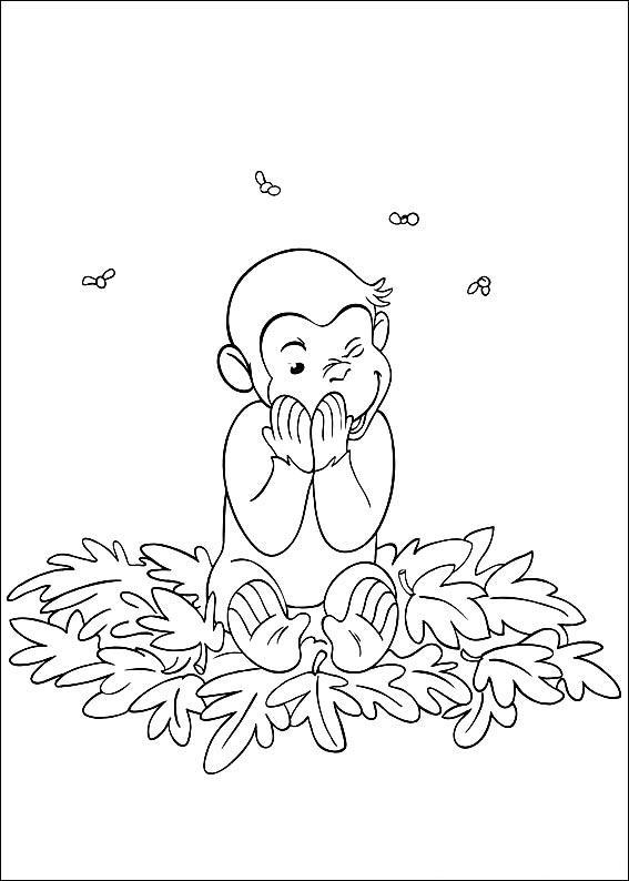 Krafty Kidz Center Curious George Coloring Pages