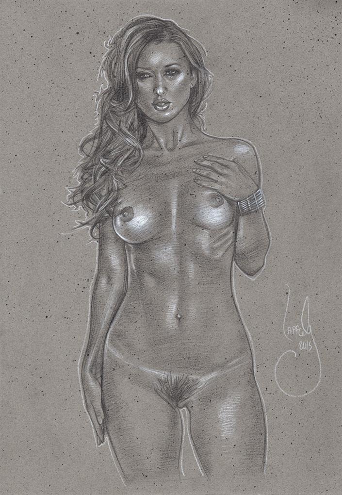Sexy Nude Woman Artwork© JEFF LAFFERTY 2015