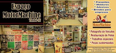 Espaço MotorMachine em Timbó/SC: clique na imagem para ampliar.