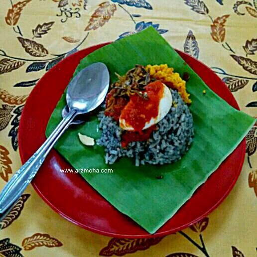 nasi lemuni, sarapan pagi, foodporn, arzmoha, food review, food lover, sarapan terbaik pulau pinang, gambar cantik