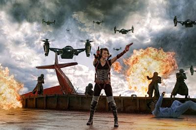 Future War Stories: FW... Milla Jovovich Resident Evil 4