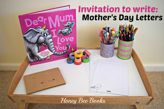 Invitation to Write Mother's Day Letters