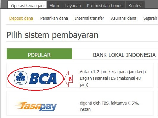 Forex di bank bca