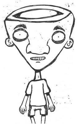 entre dudas, ilustracion Gustavo Daher