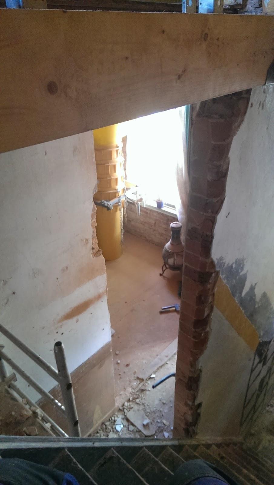 Van krot tot ons paleisje slopen maar - Behang voor trappenhuis ...