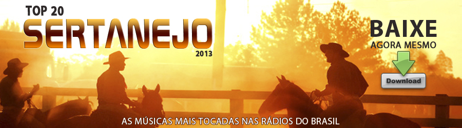 Cd As 20 Top - Baixar Sertanejo - Click Certo Digital