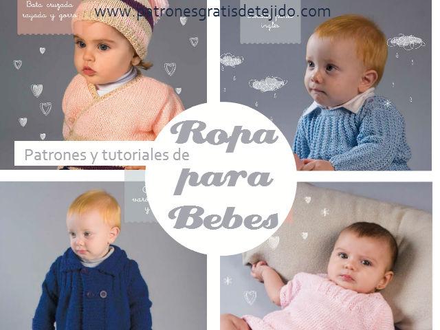 Aprender a tejer ropa de bebe