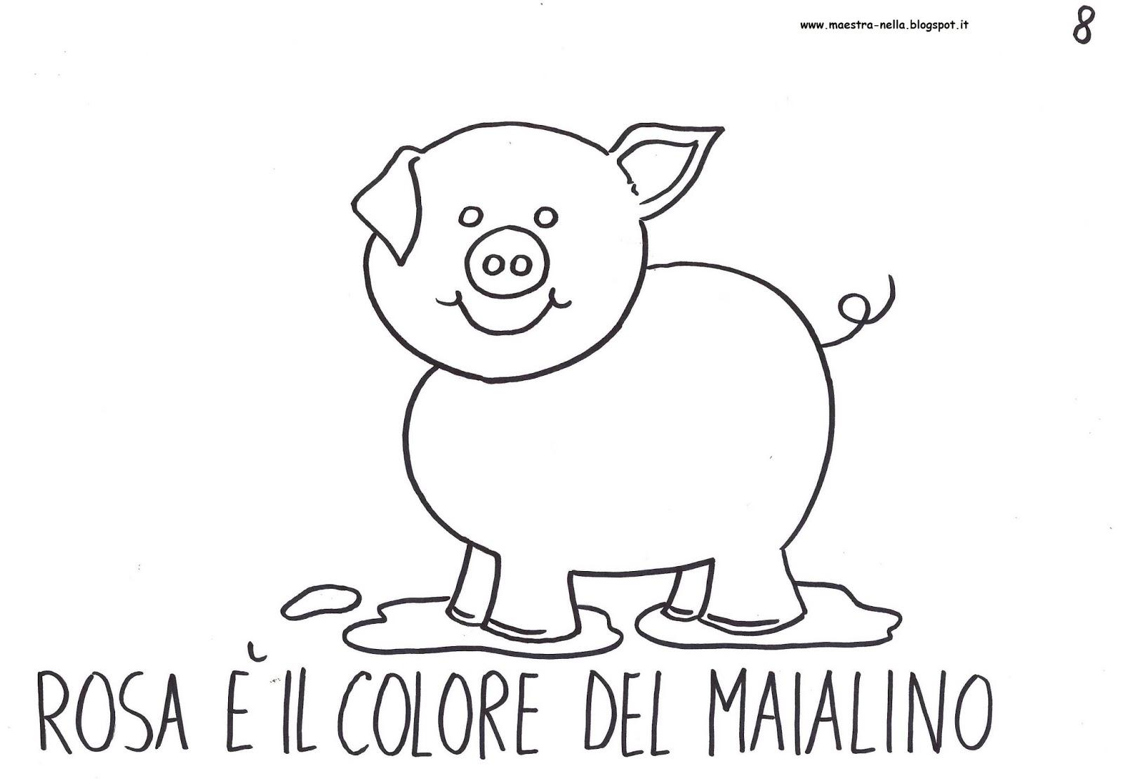 maestra nella il libro dei colori