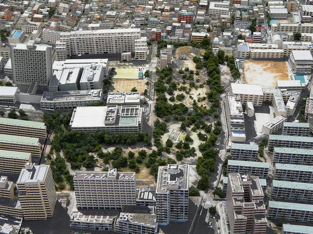 Afbeeldingsresultaat voor vertical gated communities tokyo