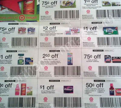Target discounts and coupons