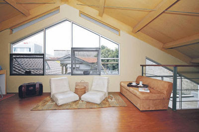 tips memanfaatkan loteng rumah dengan cerdik | model