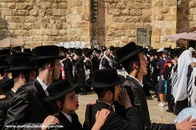 Muro de las lamentaciones en Jerusalén - Viaje a Israel