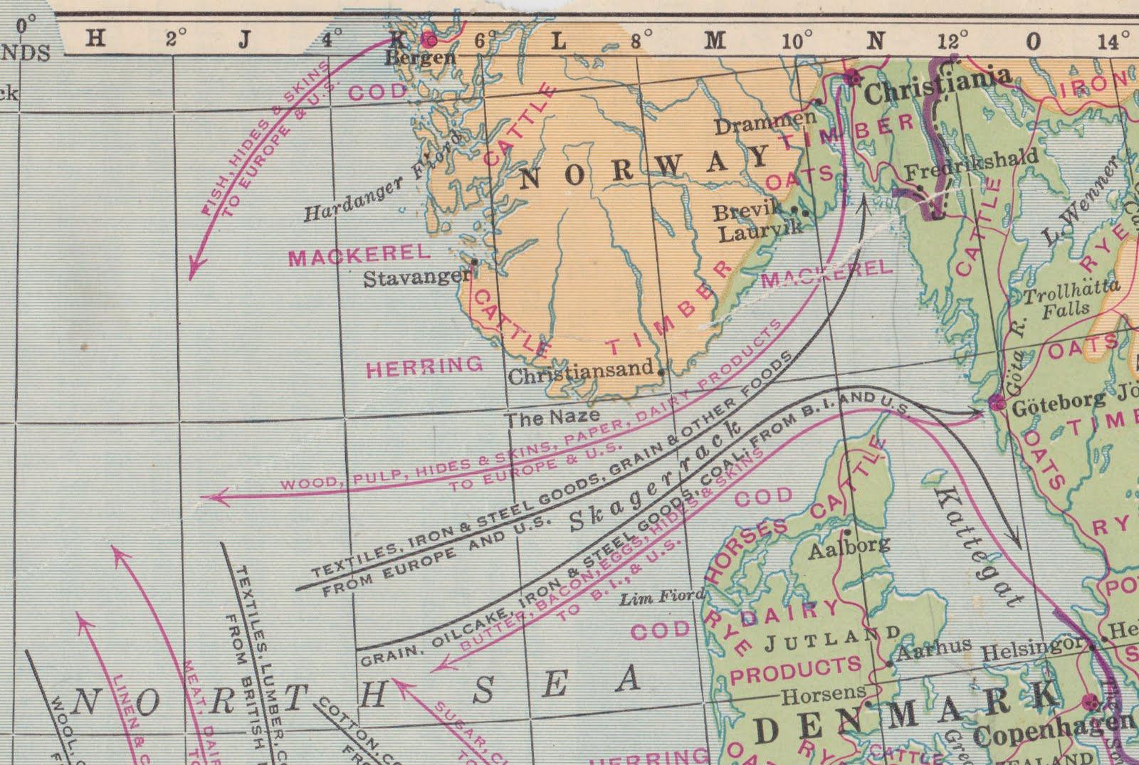 Papergreat Saturdays Postcard Hanseatic Warehouses In Bergen - Norway encarta map