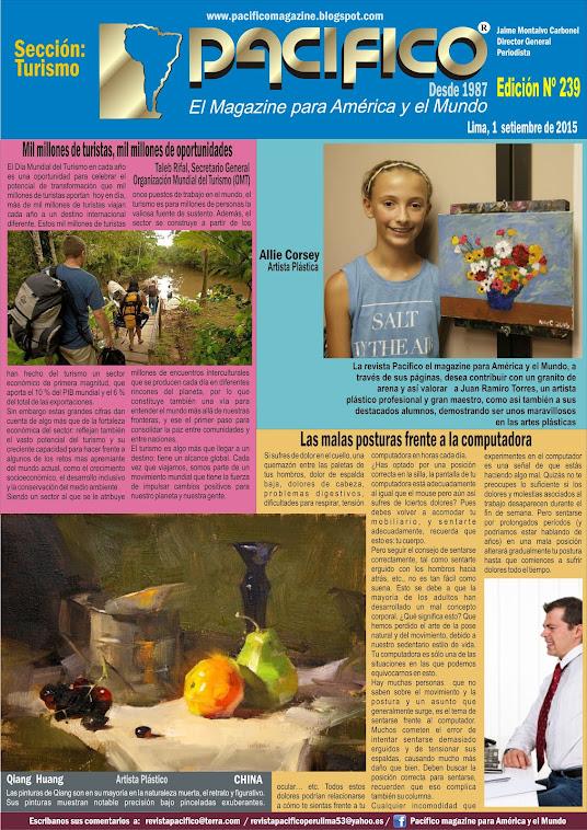 Revista Pacífico Nº 239 Turismo