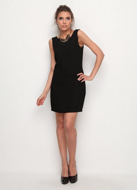 siyah elbise kısa