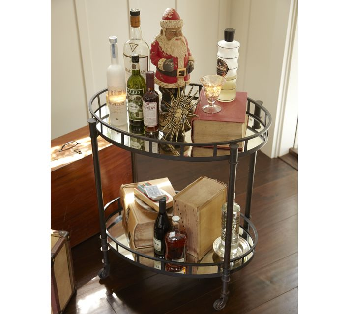 The Queen City Style Bar Cart Admiration