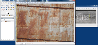 Acquire a Rusty Metal Texture