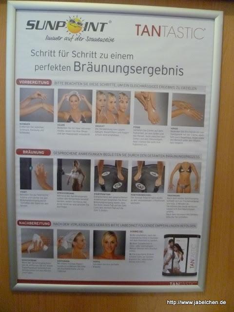 Sunpoint: TanTastic Bräunungsdusche Erfahrungsbericht
