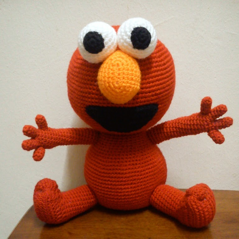 Ami Outlet: Free Crochet Pattern : Elmo