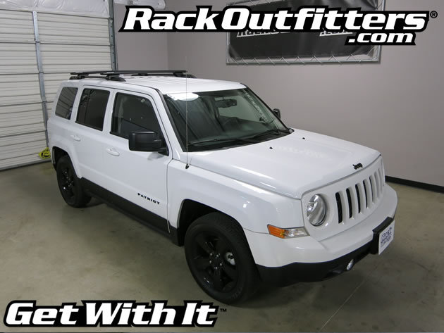 Jeep Patriot Rhino Rack Sx Vortex Aero Black Complete Roof