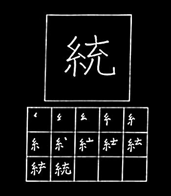 kanji mempersatukan