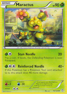 Maractus Dragons Exalted Pokemon Card