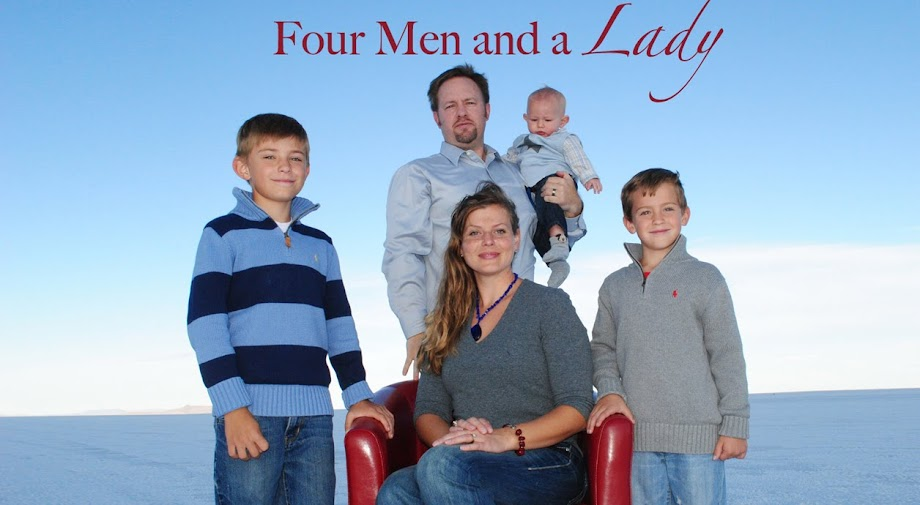 Four Men and a Lady