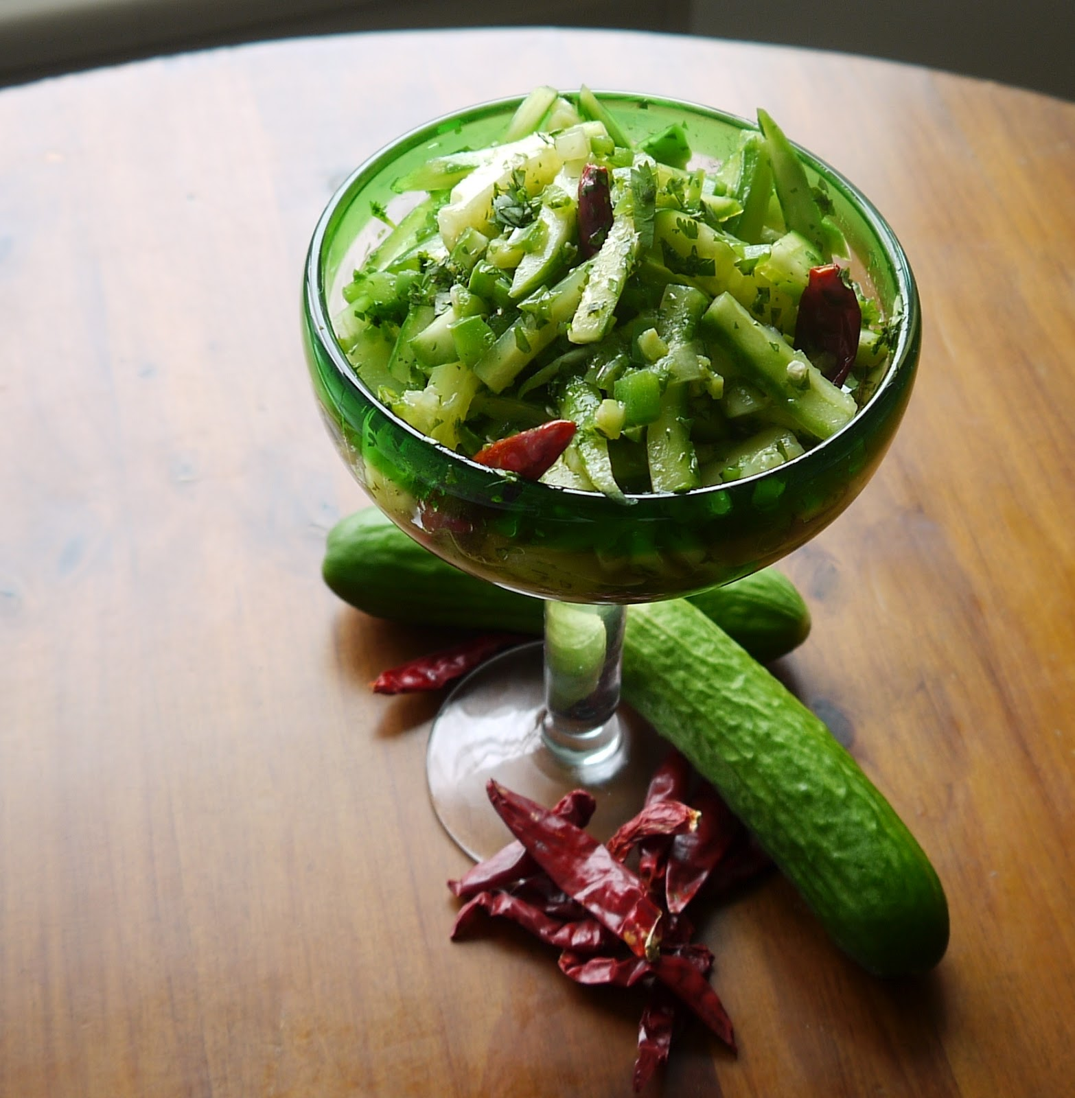 Spicy Cucumber Salad (layou Huanggua--Yunnan) Recipe ...