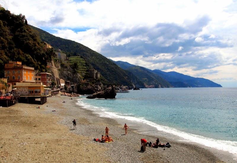 Old town beach - Monterosso al Mare, Italy