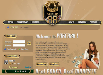 Poker online by poker88.asia
