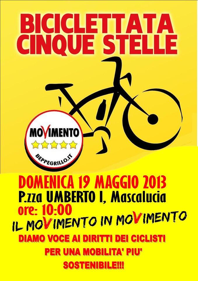 Biciclettata 5 Stelle Mascalucia