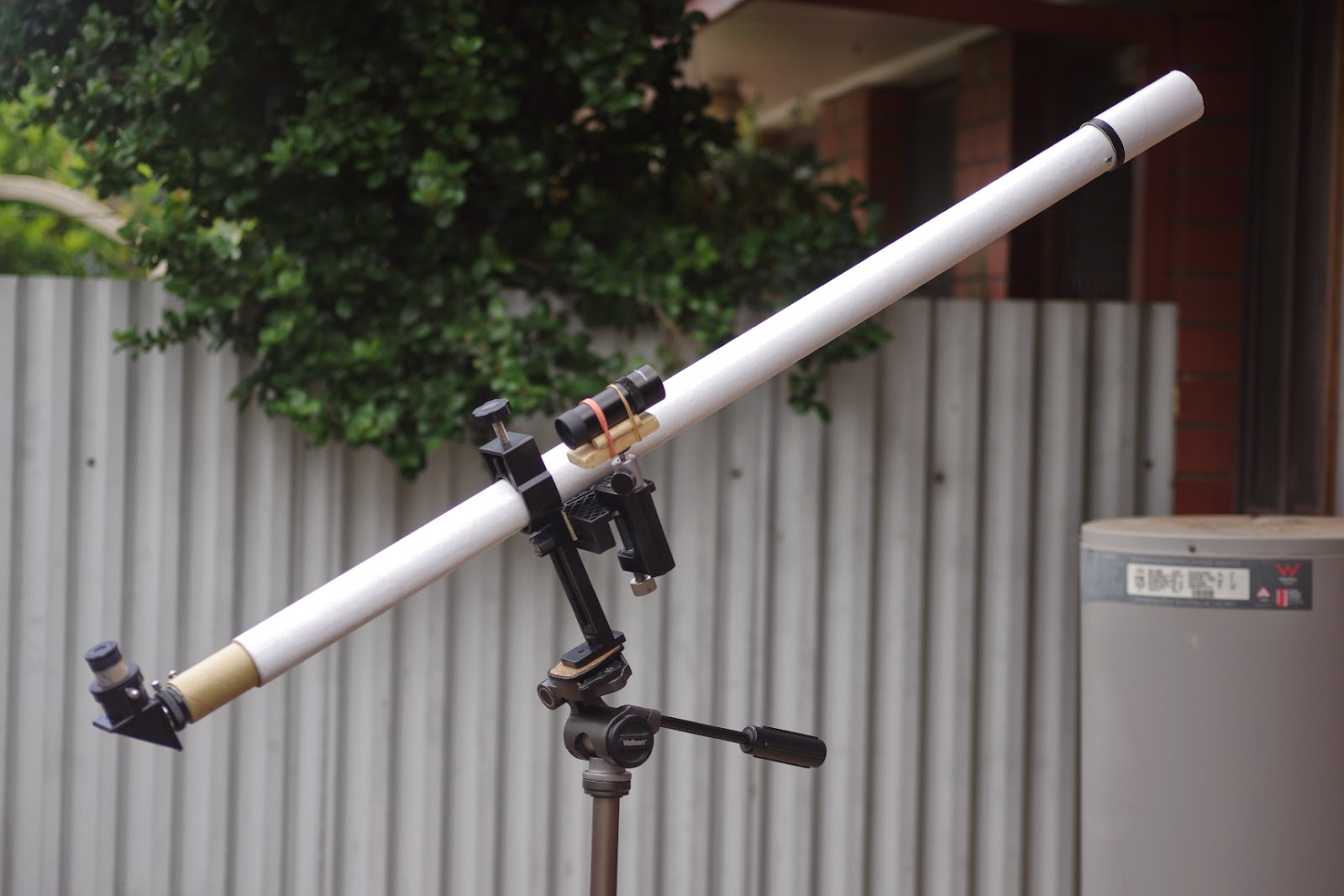 articles backyard astronomy with a 17th century telescope