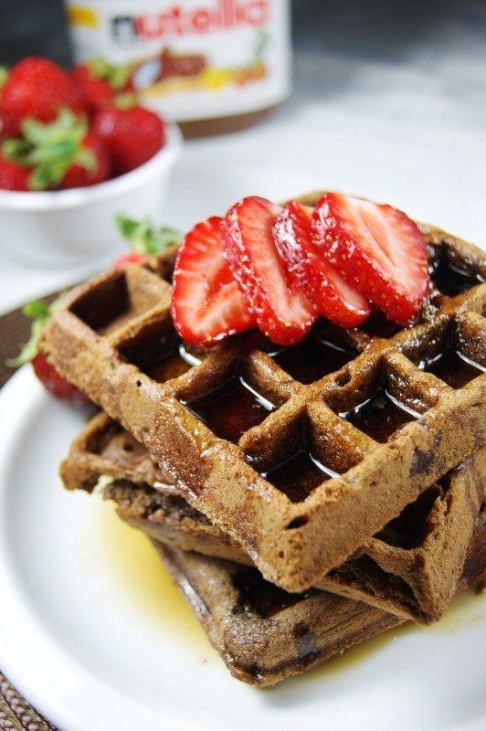 Waffles Invite with perfect invitations example