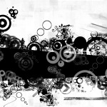 Black And White hd Abstract wallpapers
