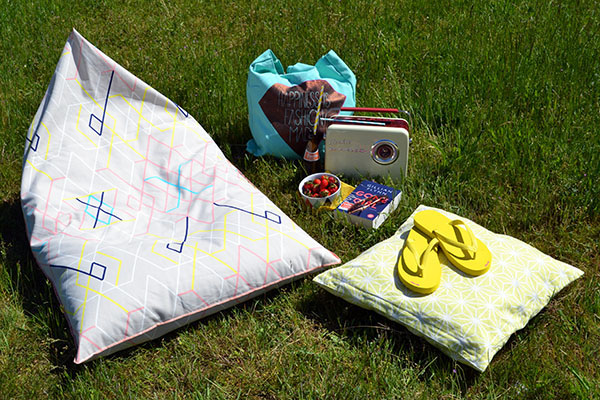 Bequemer Sitzsack für Sommer, Sonne und Entspannung