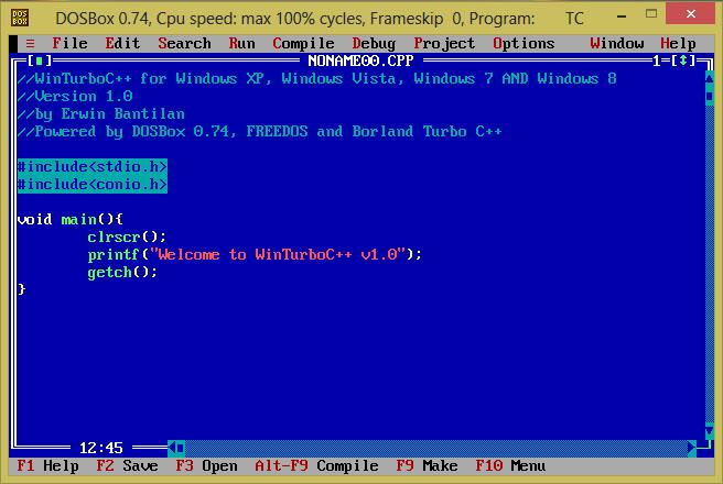 Download turbo c for windows 81 pro
