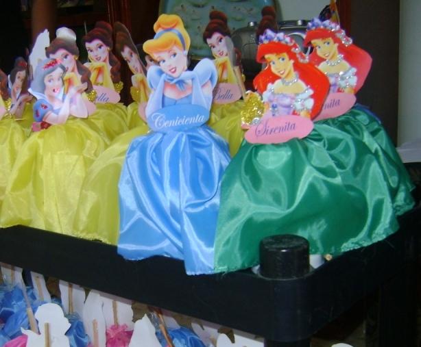Bolos de princesas para fiestas infantiles - Imagui