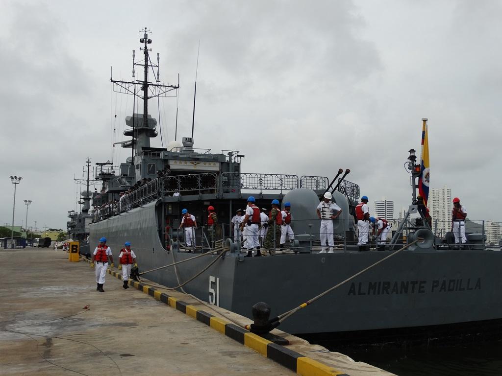 Fragata Misilera ARC Almirante Padilla
