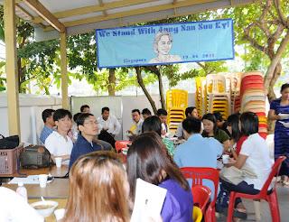 >Burmese in Singapore marked Suu 66 Birthday