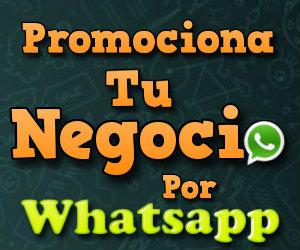 Promociona tu Negocio por Whatsapp
