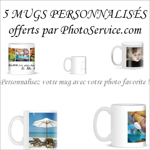 concours, mug personnalisé