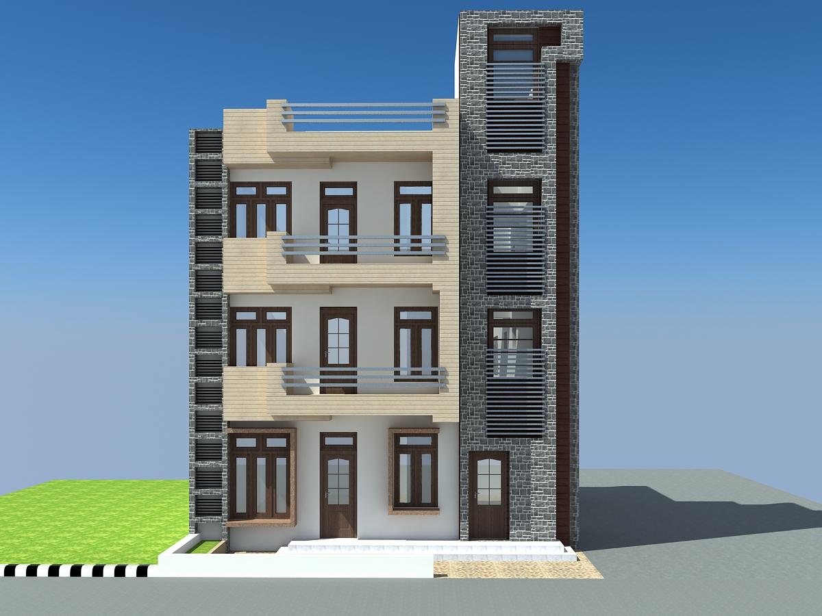 Apna Ghar House Design In 3d View Joy Studio Design